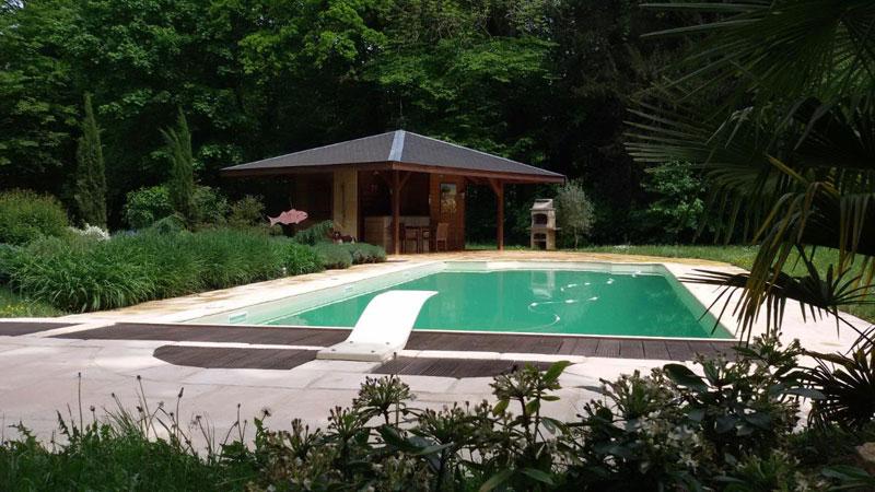 Exemple de piscine dans l'Indre